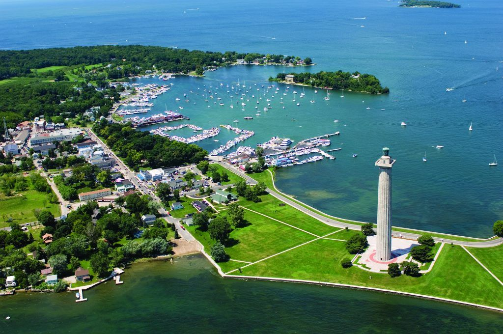 Perry's Victory Monument at Put-in-Bay