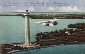 Put-in-Bay Monument Postcard